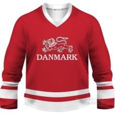 Dánsko - fanúšikovský dres, červená verzia