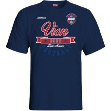 Detské tričko FC ViOn Zlaté Moravce  vz. 13 - modrá–tmavomodrá