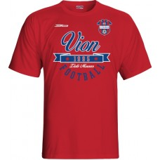 Detské tričko FC ViOn Zlaté Moravce  vz. 13 - červená