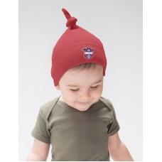 Baby čiapka s uzlom FC ViOn Zlaté Moravce - červená