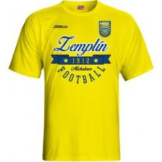 Detské tričko MFK Zemplín Michalovce vz. 13 - svetlo žltá