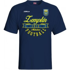 Detské tričko MFK Zemplín Michalovce vz. 13 - modrá–tmavomodrá