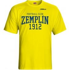 Detské tričko MFK Zemplín Michalovce vz. 19 - svetlo žltá