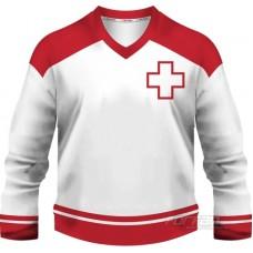 Švajčiarsko - fanúšikovský dres, biela verzia