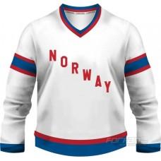 Nórsko -  fanúšikovský dres, biela verzia
