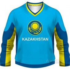 Kazachstan - fanúšikovský dres, modrá verzia