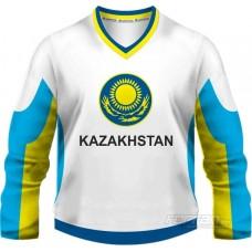 Kazachstan - fanúšikovský dres, biela verzia