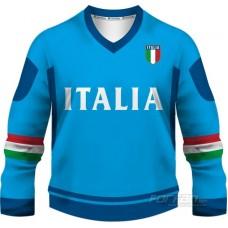 Taliansko - fanúšikovský dres, modrá verzia