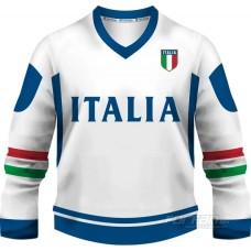 Taliansko - fanúšikovský dres, biela verzia