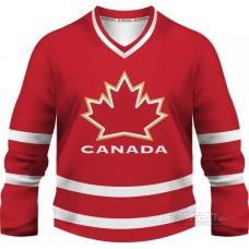 Kanada - fanúšikovský dres, červená verzia