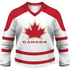 Kanada - fanúšikovský dres, biela verzia