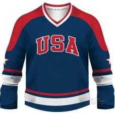 USA - fanúšikovský dres, modrá verzia