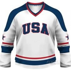 USA - fanúšikovský dres, biela verzia