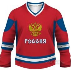 Rusko - fanúšikovský dres, červená verzia