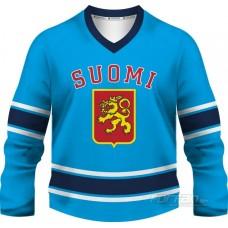 Fínsko - fanúšikovský dres, modrá verzia
