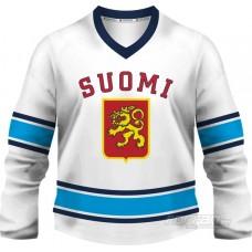 Fínsko - fanúšikovský dres, biela verzia