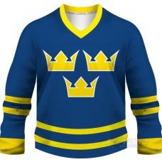 Švédsko - fanúšikovský dres, modrá verzia