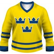Švédsko - fanúšikovský dres, žltá verzia