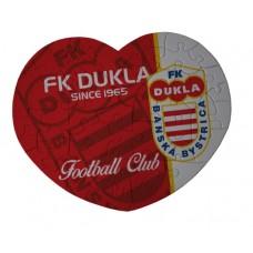 Puzzle srdce FK Dukla Banská Bystrica