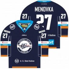 Minidres HC Košice 2017/18 - modrá–tmavomodrá