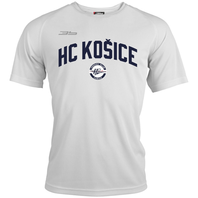 3f9413787638 ... Pánske športové tričko HC Košice 0419 - biela Pánske športové tričko HC  Košice 0419 - biela