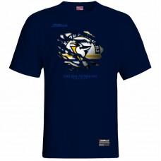 Tričko Penguins Prešov 0117 - modrá – tmavomodrá