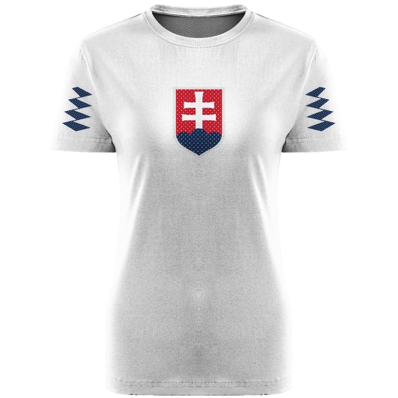 6844b8ab13ea Dámske tričko Slovensko 0118 ...