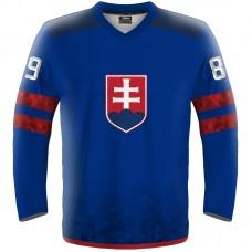 ec41fd4cfb4 Hokejový dres Slovensko replica simple tmavá 2018