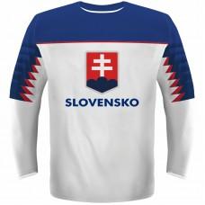 93bdb75ad130 Hokejový dres Slovensko NEW replika svetlý 2019