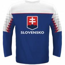 2e1c55d5bbe4 Hokejový dres Slovensko NEW replika tmavý 2019