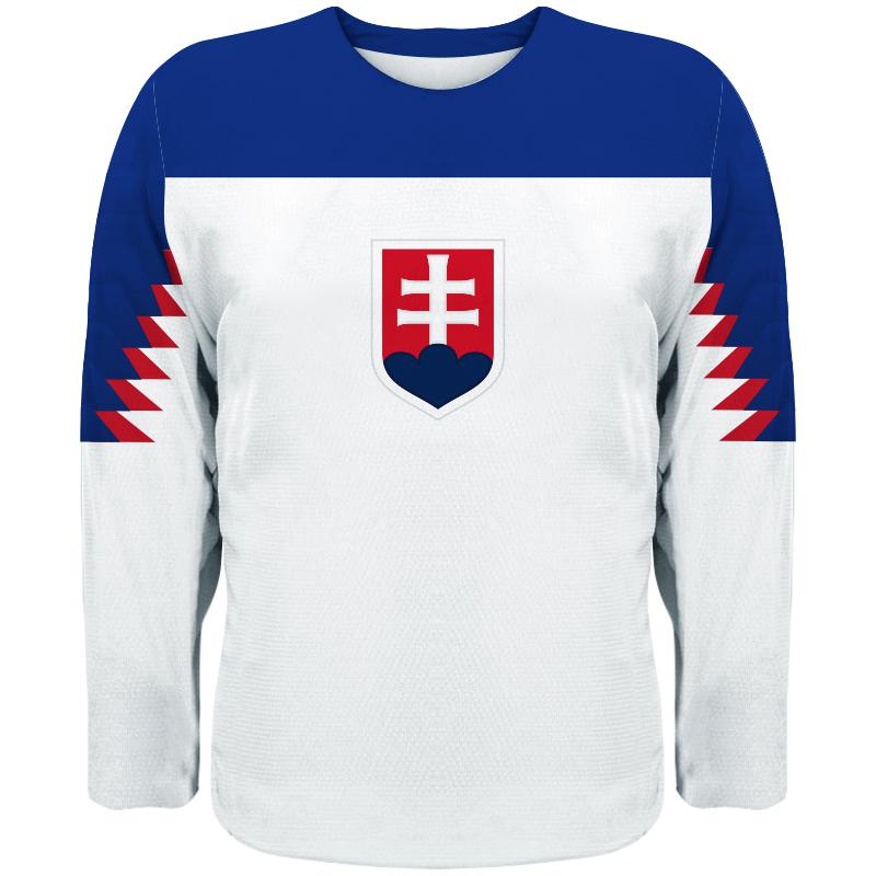 f88fa8cd1b1 Detský hokejový dres Slovensko NEW replika svetlý ...