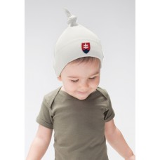 Baby čiapka s uzlom Slovensko