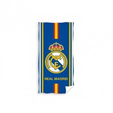 CARBOTEX Bavlnená osuška 75/150cm REAL MADRID Blue