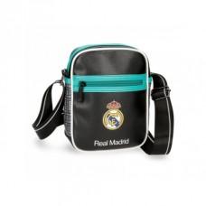 Štýlová taška na doklady / organizér REAL MARDID Black/Green