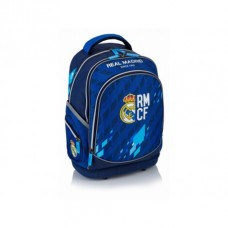 Školský batoh s pevným dnom REAL MADRID Blue, RM-131, 502018011
