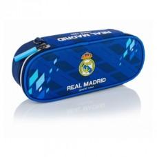 Jednokomorový peračník / puzdro REAL MADRID Blue, RM-129, 505018010