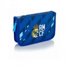 Vyklápací peračník s náplňou REAL MADRID Blue, RM-132