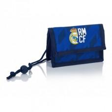 Peňaženka na krk / kapsička REAL MADRID Blue, RM-130