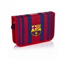 Vyklápací peračník s náplňou FC BARCELONA Stripe, FC-185, 503018001