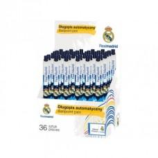 Guľôčkové pero 0,7mm REAL MADRID RM-154, modré, stojan, 201018001