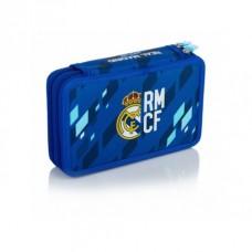 Dvojposchodový peračník s náplňou REAL MADRID Blue, RM-135, 503018008