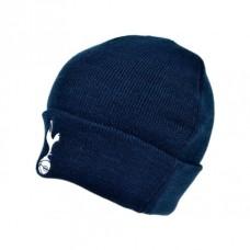 Štýlová zimná úpletová čiapka TOTTENHAM Navy Cuff