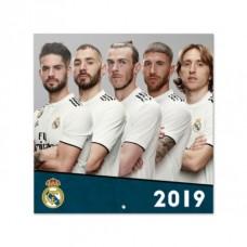 Nástenný kalendár 2019 REAL MADRID
