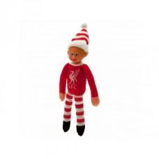 Plyšový vianočný škriatok / maskot FC LIVERPOOL Elf