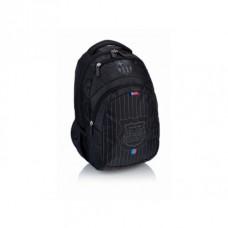 Školský batoh FC BARCELONA Black 44cm, FC-190
