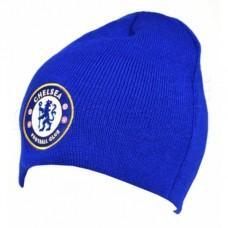 Štýlová zimná úpletová čiapka FC CHELSEA Royal