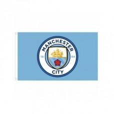 Klubová vlajka 152/91cm MANCHESTER CITY Core
