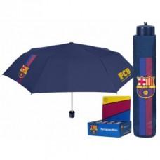 PERLETTI® Skladací dáždnik FC BARCELONA Stripe