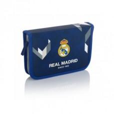 Vyklápací peračník s náplňou REAL MADRID Blue, RM-181, 503019005