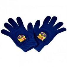 Pánske úpletové rukavice FC BARCELONA Blue